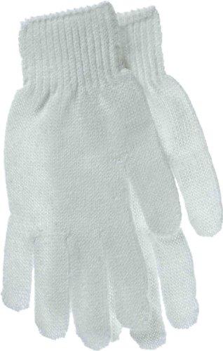 BOSS Handschuhe Herren Wendbar Weiß String Knit Handschuhe 300W
