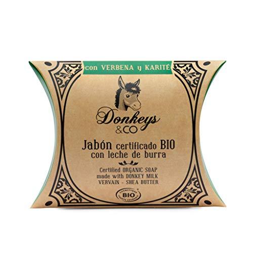Donkeys-Jabón leche de Burra Verbena y Karité Bio 100gr