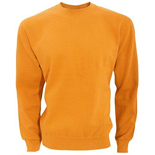 SG Sweatshirt/Pullover, Rundhalsausschnitt (L) (Kräftiges Orange)