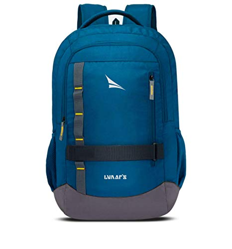 Lunar's Bingo – 48 L Laptop Office/School/Travel/Business Backpack Water Resistant – Fits Up to 15.6 Inch Laptop Notebook with 1 Year Warranty