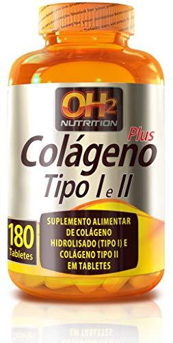 Colágeno Tipo 1 e Tipo 2 Plus - 180 tabletes