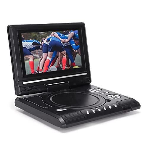 Reproductor de DVD móvil, Dispositivo de reproducción de Alta definición portátil de 6.8/8.5 Pulgadas, Reproductor de DVD Multifuncional para automóvil de Oficina en casa(UE LMD-750)