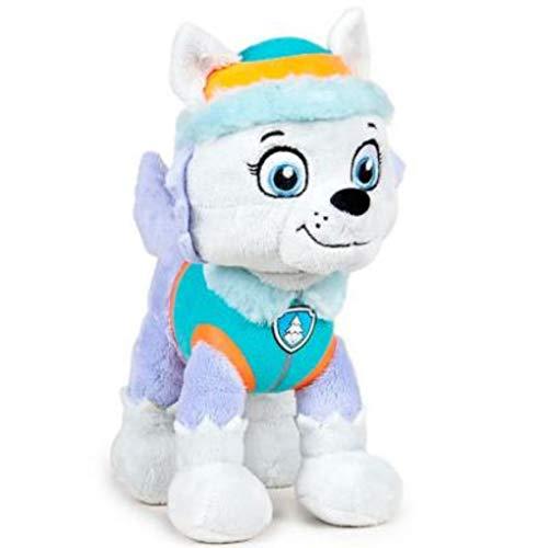Play by Play Peluche Personaje Everest - LA Patrulla Canina - Husky Azul (26 CM DE PIE)