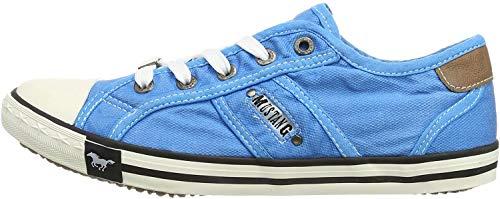 MUSTANG Damen 1099-302-88 Sneaker, Blau (hellblau 88), 42 EU