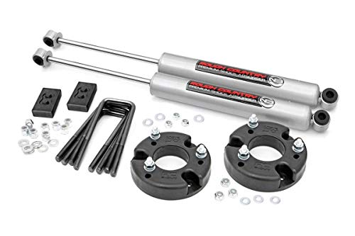 Rough Country 2' Leveling Kit (fits) 2009-2019 F150 (F-150) w/ N3 Shocks Suspension System 52230