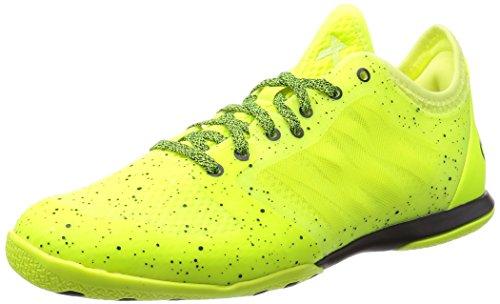 Adidas X 15.1 CT Herren Hallen Fußballschuhe, Amarillo / Negro, 45 1/3