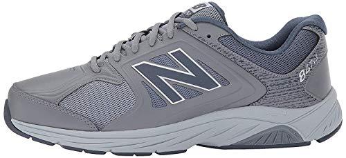 New Balance Men's 847 V3 Walking Shoe, Grey/Grey, 11 W US