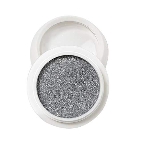 Fineday Solid Retro Magic Mirror Powder Mirror Flour Cross-Border Nail Art Water Ripple, Nail Art HotSales (Silver)