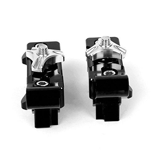 For Yamaha MT07 2013-2018 For Yamaha FZ07 2015-2018 Motorbike CNC Aluminum Rear Axle Spindle Chain Adjuster Blocks