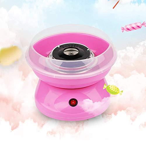 Yxp Candy Floss-Hersteller-Maschine Elektro-Zuckerwatte-Hersteller Herstellung elektrischer Sweet Sugar Gourmet Haus für Kinder Familien-Geschenk,Rosa