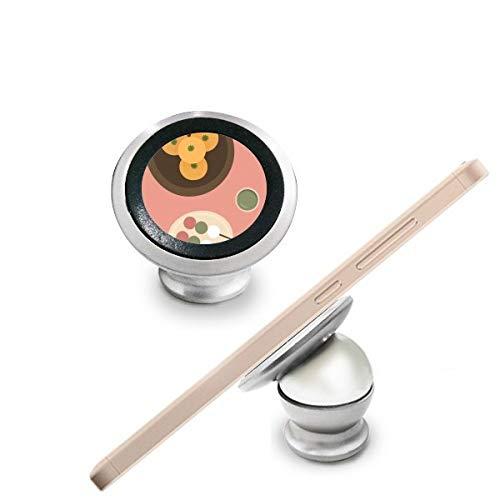 Local japonés alimentos aperitivos magnético Teléfono para Salpicadero de Coche Soporte Para Teléfono celular de 360grados rotación regalo