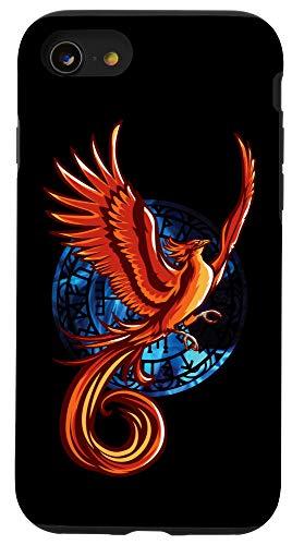 iPhone SE (2020) / 7 / 8 Phoenix Bird Ancient Mythology Fantasy Animals and Creatures Case