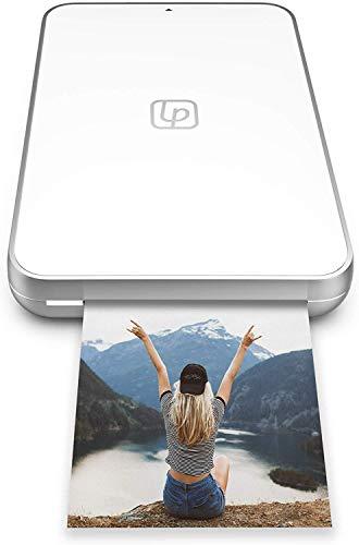 Lifeprint Stampante Ultra Slim | Stampante istantanea Portatile Bluetooth per Foto, Video e Gif con Tecnologia di incorporamento Video, Suite di Editing e App Social