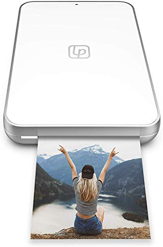 Lifeprint Ultra Slim Printer | Portable Bluetooth Photo, Video & GIF Instant Printer with Video Embed Technology, Editing Suite & Social App for iOS and Android | 2x3 ZINK Zero Ink Sticky-Back Film