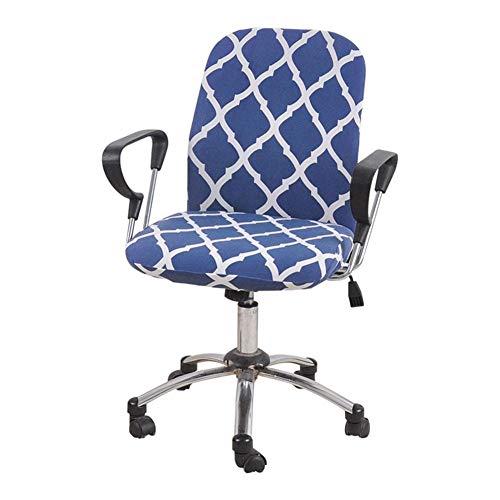 Fancylande, Astonishing, stoelhoes, grijs, zwart, rood, grijs, stretchstoel, bureaustoel met hoge rugleuning, draaistoel met afneembare bekleding