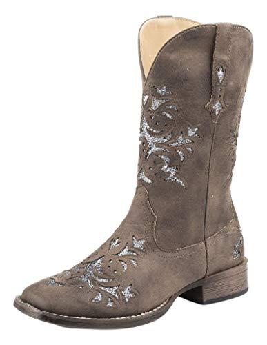 Roper Women's Western Fashion Boot, Brown, 7.5