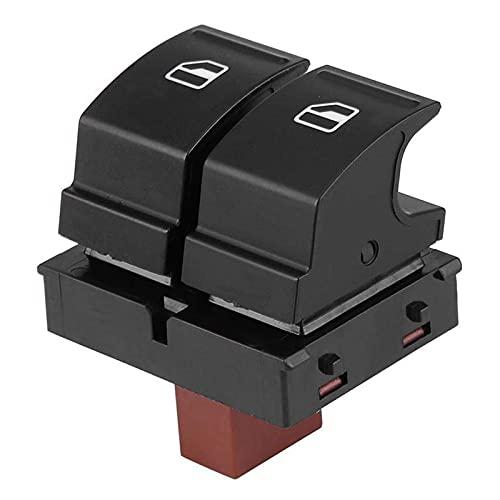 NsbsXs para Skoda Fabia 2 Octavia 1Z Roomster Botón de Interruptor de Ventana de energía eléctrica 1Z0959858
