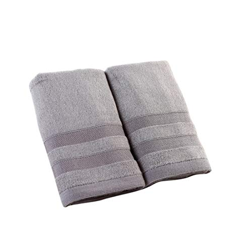 LNLW Ultra - hohe Saugfähigkeit - Durable - Hotel Bad Handtuch Collection - Weiche Absorbent Fitness Lauf (Color : Gray)