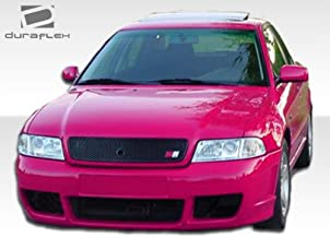 Extreme Dimensions Duraflex Replacement for 1996-2001 Audi A4 S4 B5 RS4 Front Bumper Cover - 1 Piece