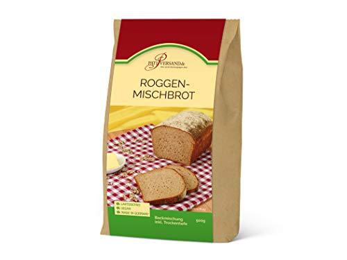 Backmischung Roggenmischbrot 500g mit 70% Roggen und 30% Weizen, inkl. Hefe