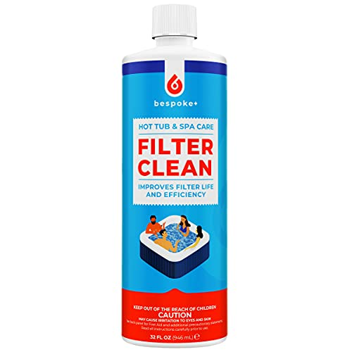 Bespoke+ Spa Filter Cleaner for Hot Tubs - 1-Hour Cartridge...