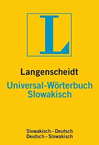 Langenscheidt Universal-Wörterbuch Slowakisch