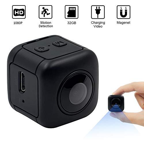 Zoiseo 1080P Action Cam, wasserdichte HD Mini Metallhelm Außenkamera, Bewegungserkennung, Maximale Unterstützung 32G