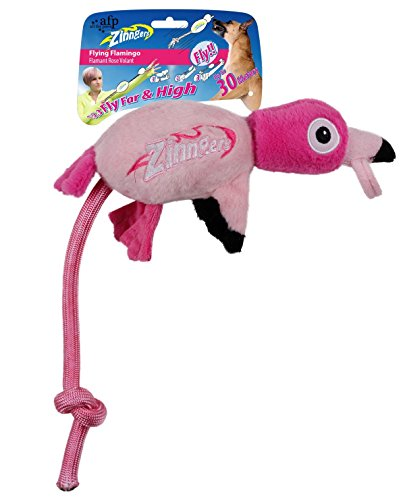All for Paws Zinngers Flamingo mit Schleuder