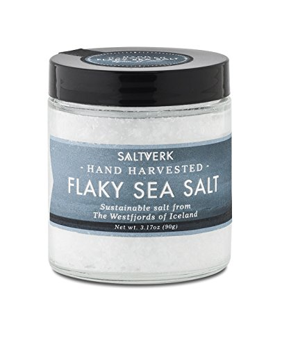 Saltverk Flaky Sea Salt, 3.17 Ounces of Handcrafted Gourmet Salt Flakes from Iceland