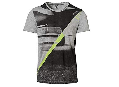 - Porsche Collection Hashtag Grey - Camiseta de manga corta (talla XS 34), color gris