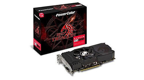 PowerColor AXRX 550 4GBD5-DHA AMD Radeon Red Dragon RX 550 Graphic Cards