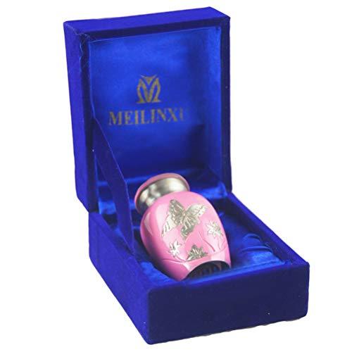 MEILINXU Mini Brass Cremation Urn