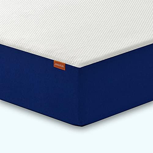 Jingxun King Mattress,Memory Foam Mattress for King Size Mattress Bed with Medium Firm 15cm Height Breathable Mattress Material and Skin-Friendly Fireproof Knitted(150x200x15CM)