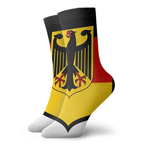 FJXXM Socks,Calcetines Suaves Y Cómodos Del Equipo Del Águila De La Bandera De Alemania Para Viajes De Escalada,30cm