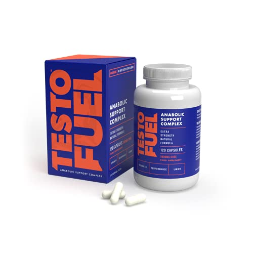 TestoFuel 120 T-Booster Pills - 100% Natural Ingredients - UK Made Premium Supplement