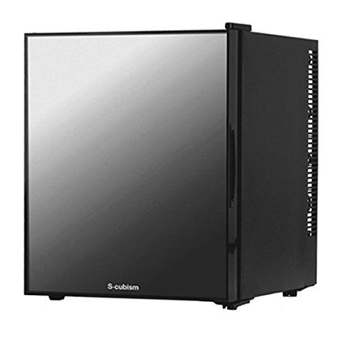 【タンスのゲン】1ドア 冷蔵庫 32L ミラーガラス ぺルチェ式