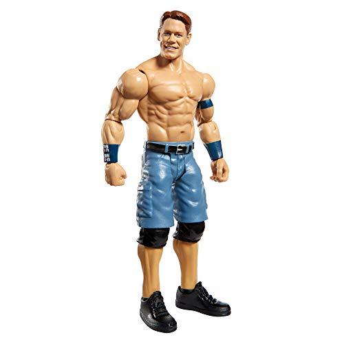 WWE GKT05 - Bewegliche John Cena WWE-Actionfigur (15 cm) im Wrestling-Look, Spielzeug ab 6 Jahren