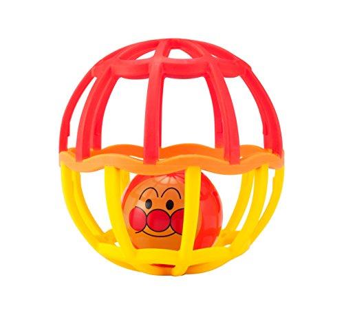 アンパンマン ストラップ付きしゃかしゃかボール レッド