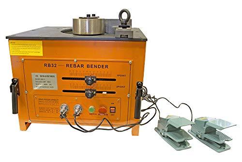 Elektro-hydraulischer Betonstahlbieger 220V / 3.0kW (6-32 mm)