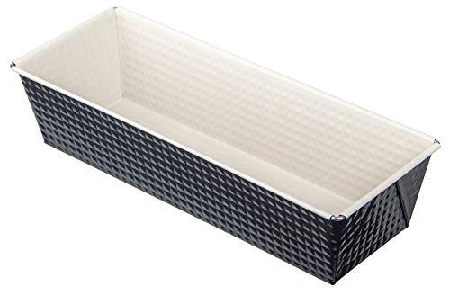 Zenker 7818 Königskuchenform Crème Noir, Durchmesser 30 cm, Edelstahl, grau / beige, 32 x 13 x 7,5 cm