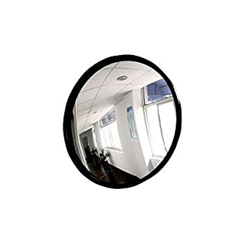 Convex Mirror Concave Mirror 9  22cm  Corner Mirror Blind Spot Office Driveway Offices Stores Traffic Safety Mirror Adjustable Fixing Bracket Cubicle Mirror Convex