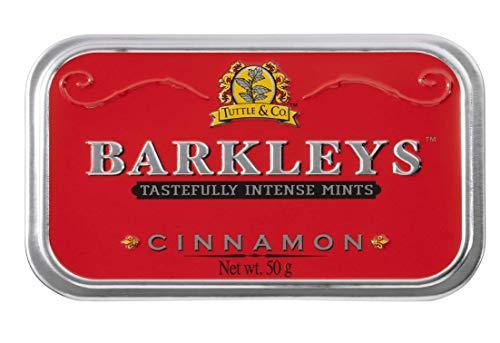 Barkleys Classic Mints Cinnamon, tins (6 x 50 g)