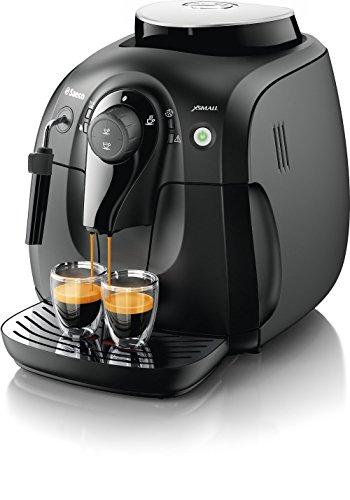 Philips XSmall HD8645/01 Macchina da Caffè Automatica, con Macine in Ceramica, Pannarello Classico