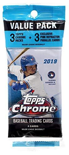 (1) 2020 Topps Chrome Baseball Unopened Value Pack