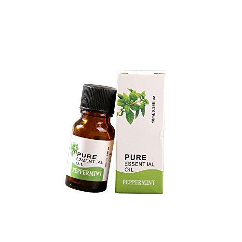 10ML Huile Essentielle Bio,Rameng 100% Pur et Naturel Aromathérapie Soin de La Peau Femme (D)