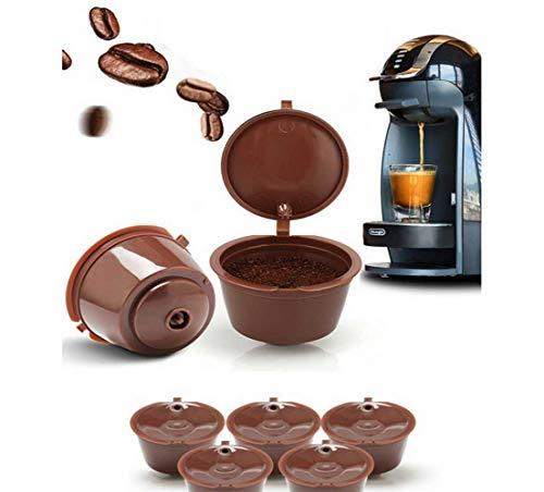 Dolce Gusto - Filtros para tazas de café reutilizables (8 unidades)