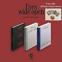 【早期購入特典あり】 TWICE --Eyes Wide Open [Random ver。](2ndフルアルバム)CD +88ページフォトブック+ポストカード+メッセージカード+折りたたまれたポスター[日本別ショップ特典:追加特典両面フォトカードセット] [韓国語版]