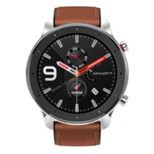 Watch Xiaomi GTR, Reloj de Acero Inoxidable - Nuevo. Global Versión. Reloj Inteligente con Seguimiento de Actividad y frecuencia cardíaca (47 mm, Batería de Larga duración), Versión EU.