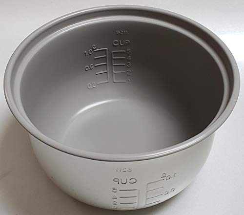 Zojirushi Original Replacement Nonstick Inner Cooking Pan for Zojirushi NS-RNC10 5-Cup Rice Cooker only