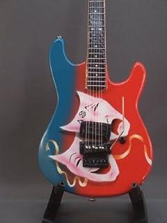 Little Shop Guitars Mini Guitar MOTLEY CRUE MICK MARS Theatre Of Pain DISPLAY Gift